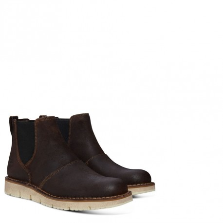 TIMBERLAND - Bottines Westmore Chelsea marrons