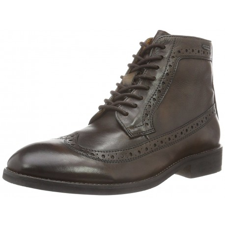 PEPE JEANS - Derbies montantes Hackney Wing Tip marrons
