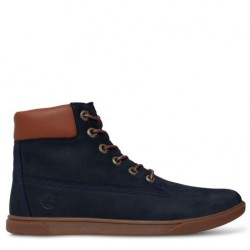 TIMBERLAND - Bottines 6-inch Lace bleues