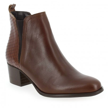 ALFA - Bottines Lille 2 marrons