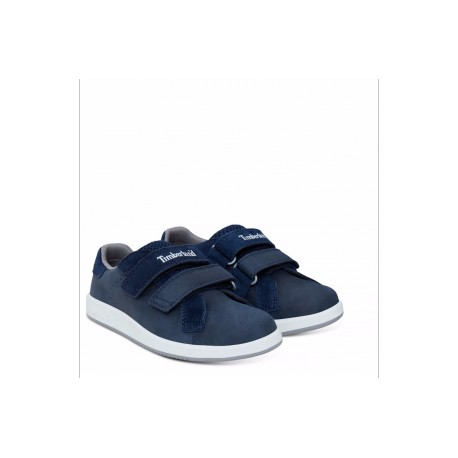 TIMBERLAND - Baskets Courtside Hook-and-Loop Oxford bleues