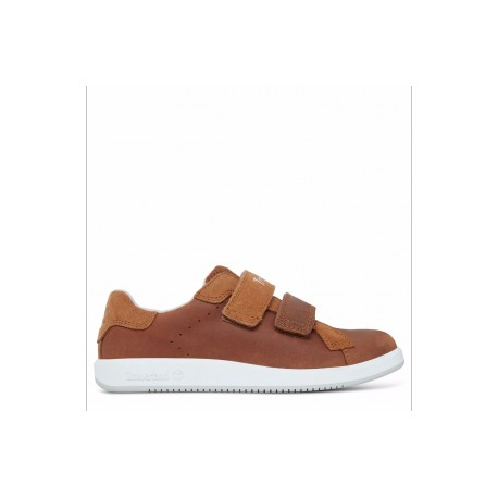 TIMBERLAND - Baskets Courtside Hook-and-Loop Oxford miel