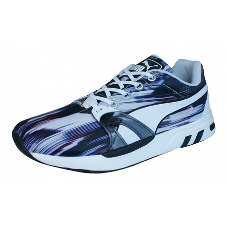 PUMA - Baskets XT S Fast Graphic blanches