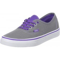 VANS - Baskets Vulcanized Pop grises