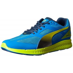 PUMA - Baskets Ignite Mesh bleues