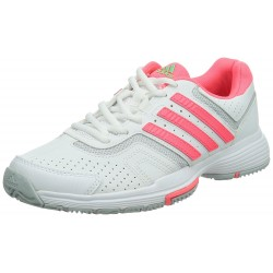 ADIDAS - Baskets Barricade Court blanches