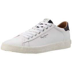 PEPE JEANS - Baskets Stadium blanches
