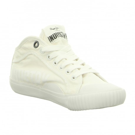 PEPE JEANS - Baskets Industry blanches