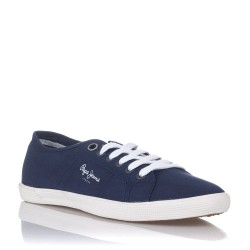 PEPE JEANS - Baskets Aberman bleues