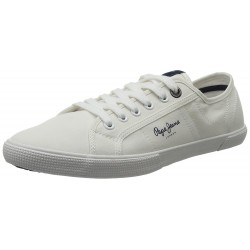 PEPE JEANS - Baskets Aberman blanches