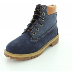 Bottines 6-inch bleues