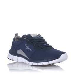 PEPE JEANS - Baskets Coven basic bleues