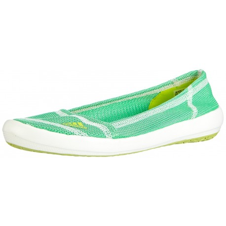 ADIDAS - Baskets Slip-on vertes