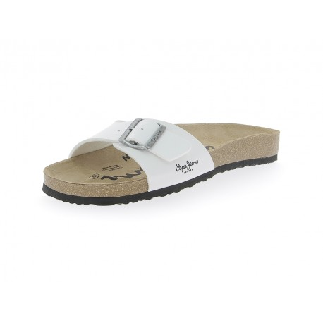 PEPE JEANS - Mules bio blanches