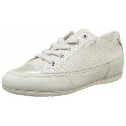 GEOX - Baskets New Moena blanches