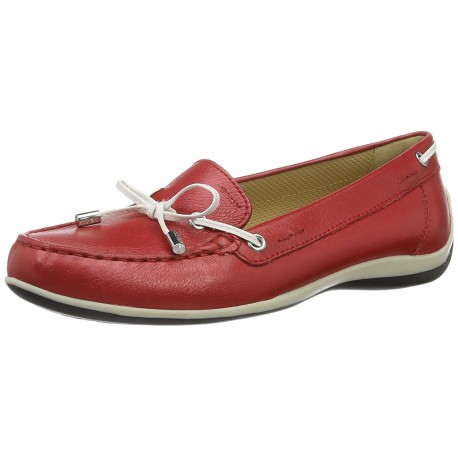 GEOX - Mocassins Yuki rouges