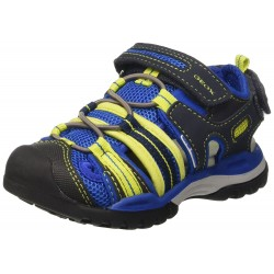 GEOX - Baskets Jr Borealis bleues