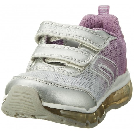 GEOX - Baskets J Android blanches et roses