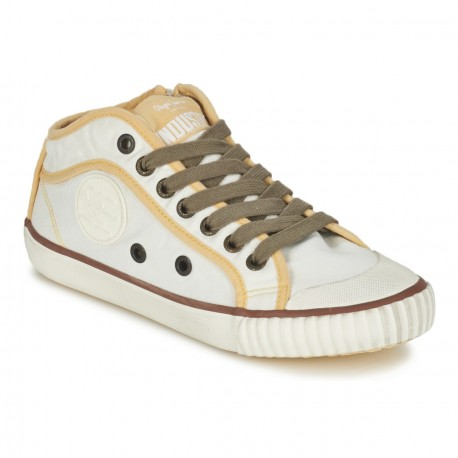 PEPE JEANS - Baskets Industry beiges