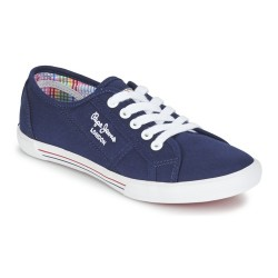 PEPE JEANS - Baskets Aberlady bleues