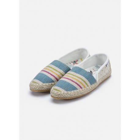 PEPE JEANS - Espadrilles Game Fantasy blanches