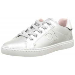 PEPE JEANS - Baskets Halley Basic argent