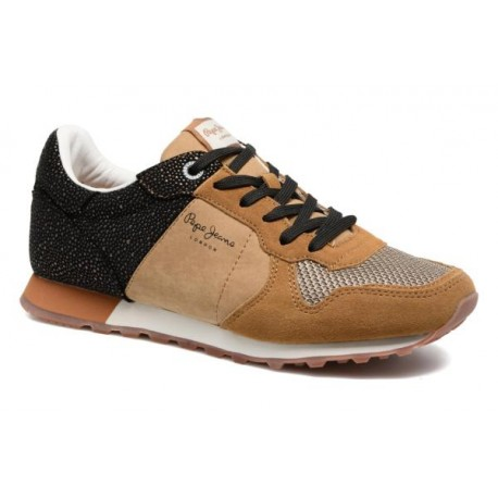 PEPE JEANS - Baskets Verona W Flash marrons