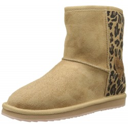 Boots Angel Leopard beiges