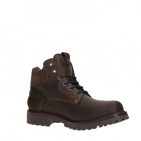 WRANGLER - Bottines Yuma marrons