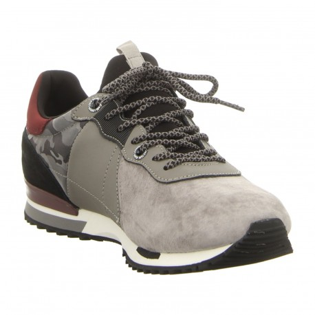 PEPE JEANS - Baskets Tinker Racer Mix grises
