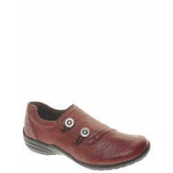 REMONTE - Mocassins Lanea rouges