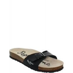 PEPE JEANS - Mules Oban noires