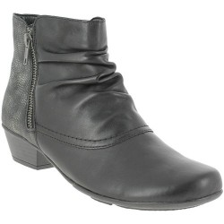 REMONTE - Bottines d7382 noires