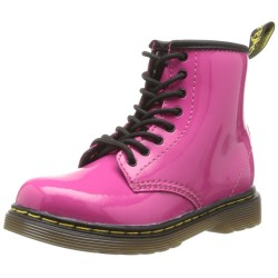 DR MARTENS - Bottines Brooklee roses