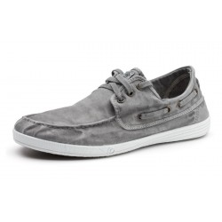 NATURAL WORLD - Mocassins 303E gris