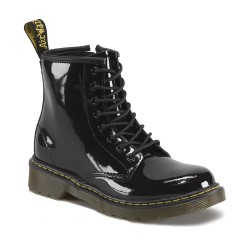 DR MARTENS - Bottines Delaney vernis noir