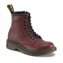 DR MARTENS - Bottines Delaney bordeaux