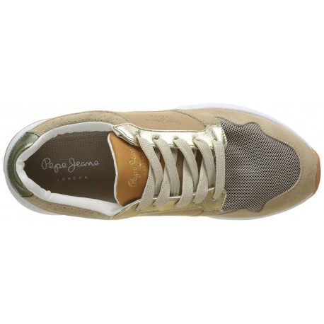 PEPE JEANS - Baskets Foster Itaka beiges