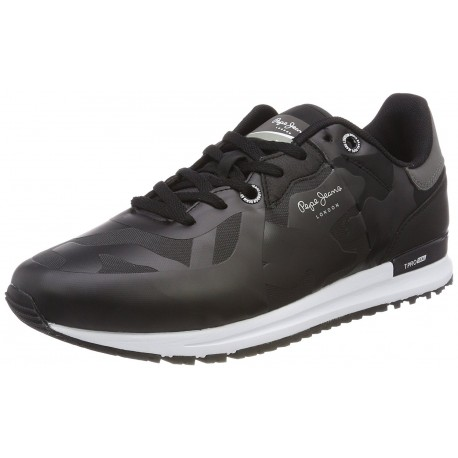 PEPE JEANS - Baskets Tinker pro seal noires