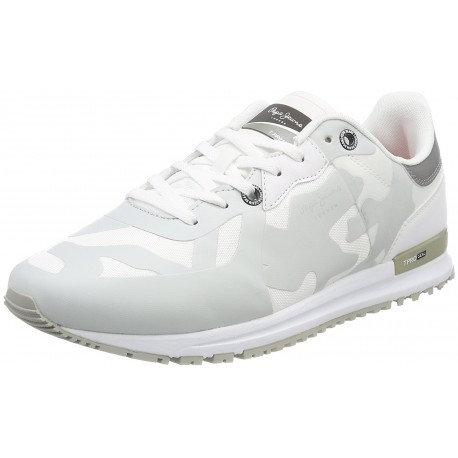 PEPE JEANS - Baskets Tinker pro seal blanches