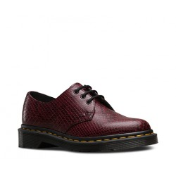 DR MARTENS - Derbies Viper rouges