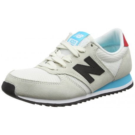NEW BALANCE - Baskets 420 blanches