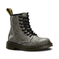 DR MARTENS - Bottines Delaney Viper grises