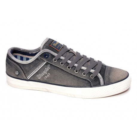 WRANGLER - Baskets Starry low gris