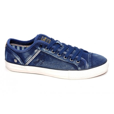 WRANGLER - Baskets Starry low bleues
