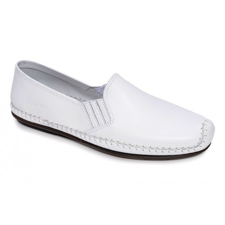FLUCHOS - Mocassins 106 blancs