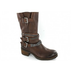 MAM'ZELLE - Bottines Doris marrons