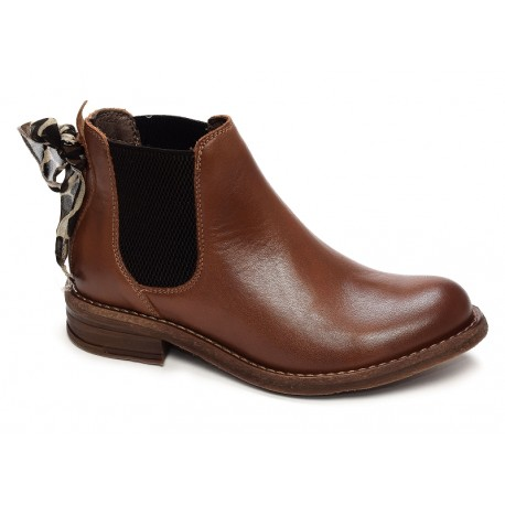 GOODSTEP - Bottines 9500 marrons