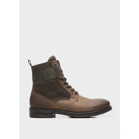 PEPE JEANS - Bottines Tom Cut marron