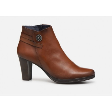 DORKING - Bottines Luna marrons